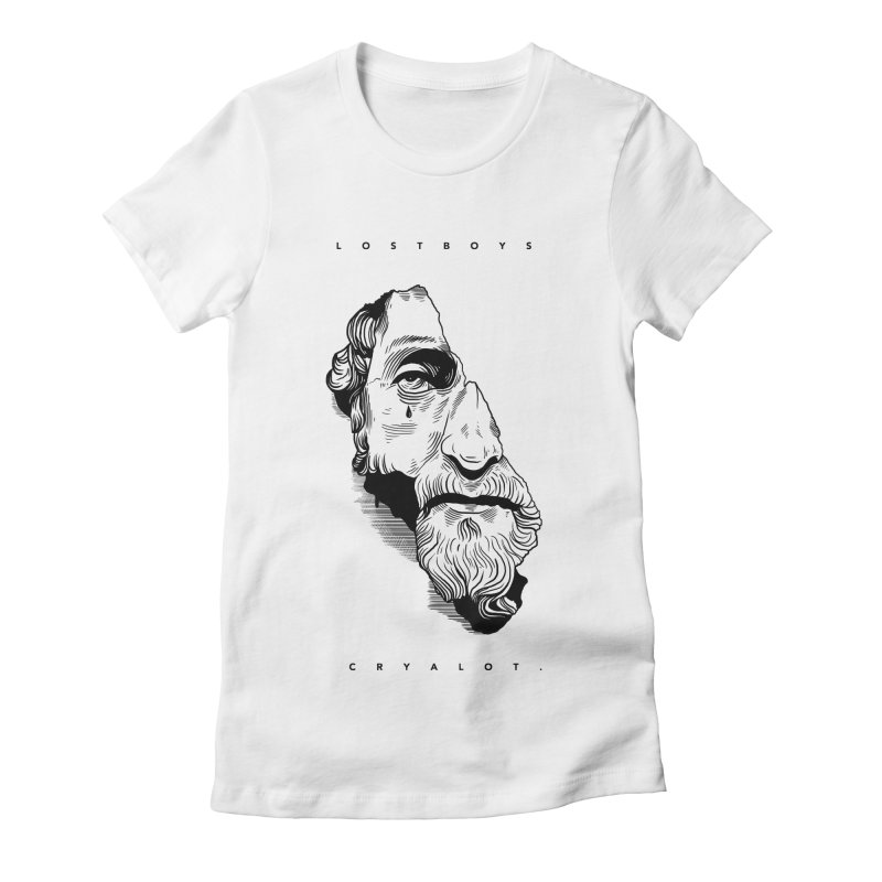 L o s t  B o y s.  Women's Fitted T-Shirt by razonable's Artist Shop