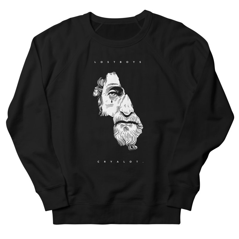 L o s t  B o y s  /  B l a c k. in Men's Sweatshirt Black by razonable's Artist Shop