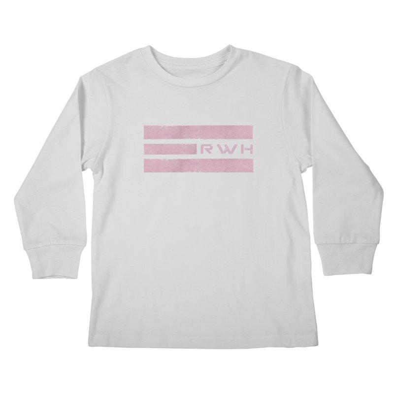 RWH 2020 RED Bars Kids Longsleeve T-Shirt by Razorwire Halo Gear