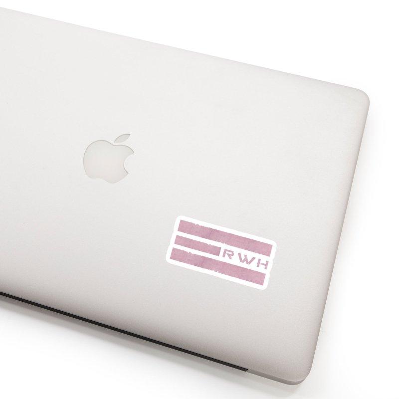 RWH 2020 RED Bars Accessories Sticker by Razorwire Halo Gear