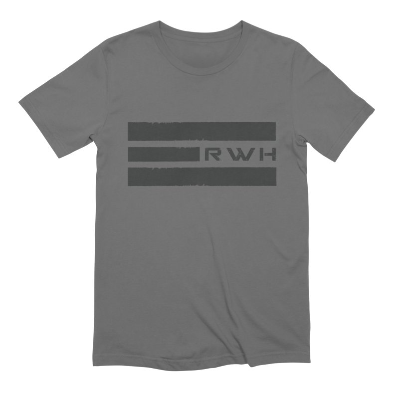 RWH 2020 BLACK Bars Men's T-Shirt by Razorwire Halo Gear