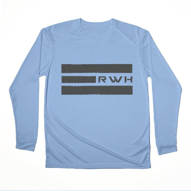 RWH 2020 BLACK Bars Men's Longsleeve T-Shirt by Razorwire Halo Gear