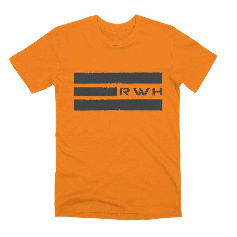 RWH 2020 BLACK Bars Men's T-Shirt by Razorwire Halo Gear