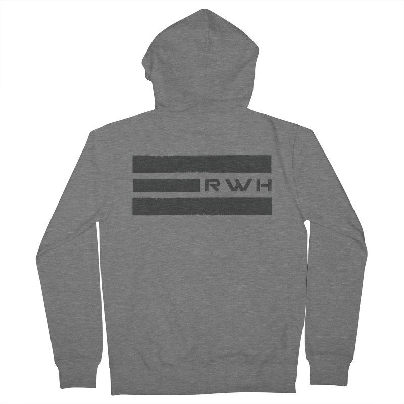 RWH 2020 BLACK Bars Women's Zip-Up Hoody by Razorwire Halo Gear
