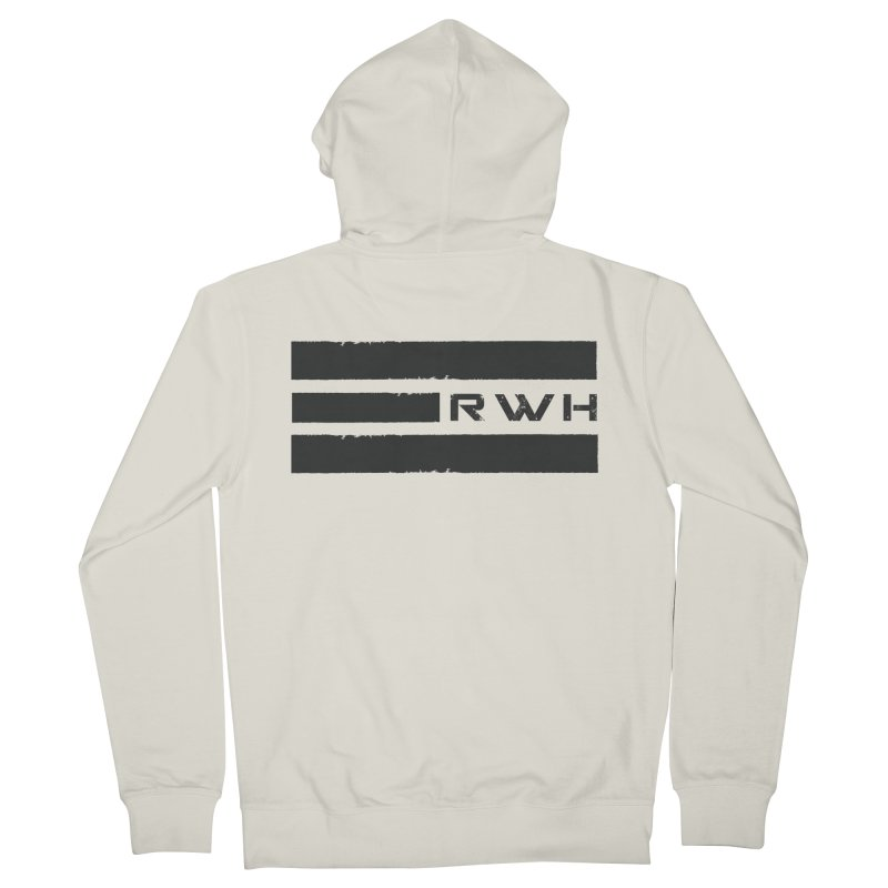 RWH 2020 BLACK Bars Women's Zip-Up Hoody by Razorwire Halo Gear