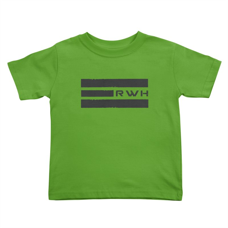 RWH 2020 BLACK Bars Kids Toddler T-Shirt by Razorwire Halo Gear