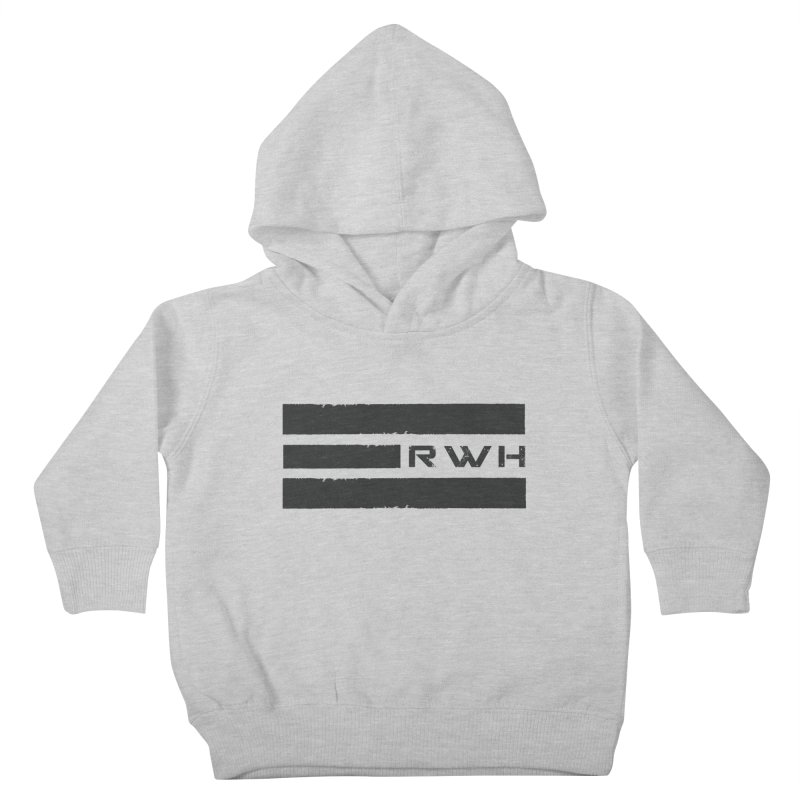 RWH 2020 BLACK Bars Kids Toddler Pullover Hoody by Razorwire Halo Gear