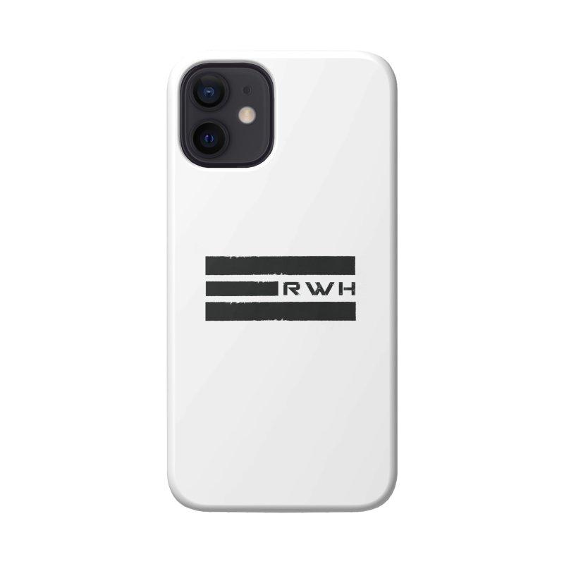 RWH 2020 BLACK Bars Accessories Phone Case by Razorwire Halo Gear