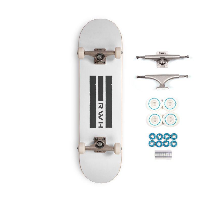 RWH 2020 BLACK Bars Accessories Skateboard by Razorwire Halo Gear