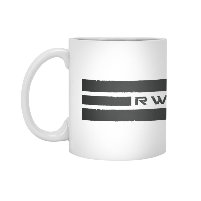 RWH 2020 BLACK Bars Accessories Mug by Razorwire Halo Gear