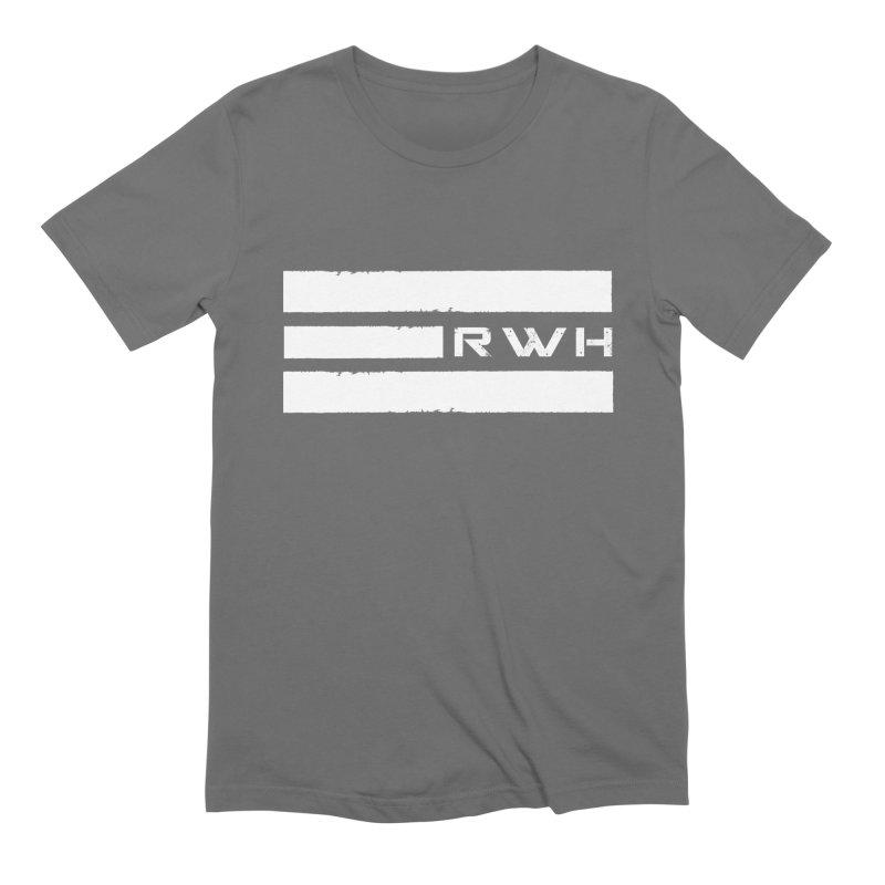 RWH 2020 WHITE Bars Men's T-Shirt by Razorwire Halo Gear