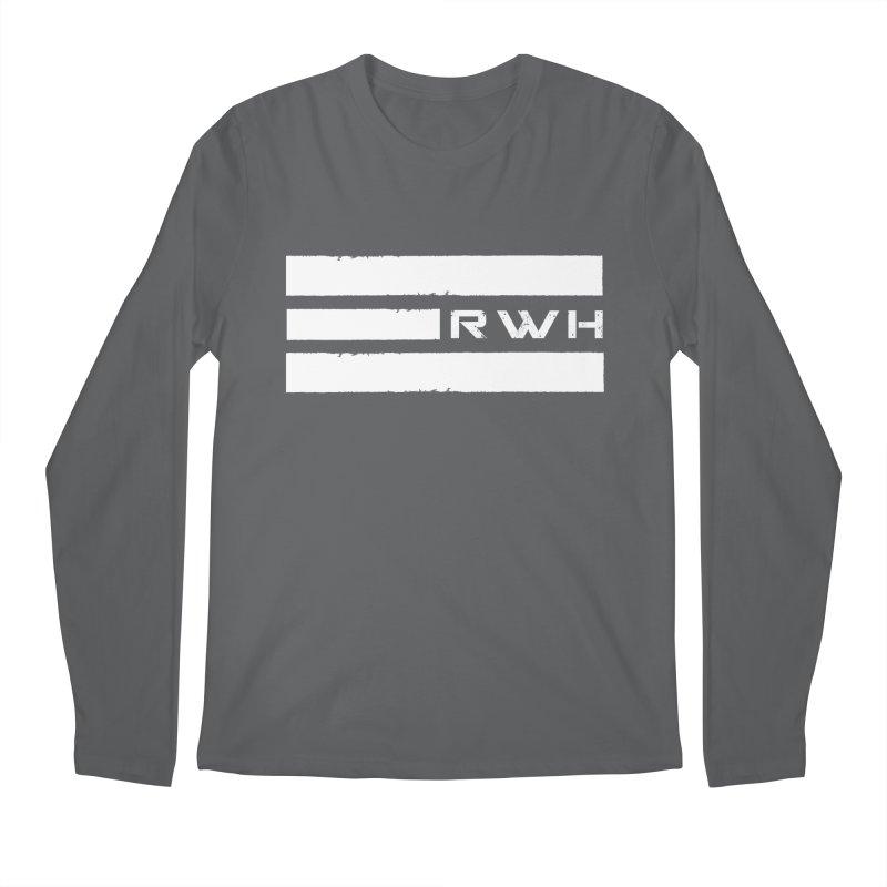 RWH 2020 WHITE Bars Men's Longsleeve T-Shirt by Razorwire Halo Gear