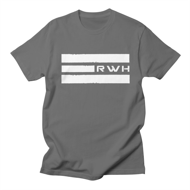 RWH 2020 WHITE Bars Men's T-Shirt by Razorwire Halo Gear