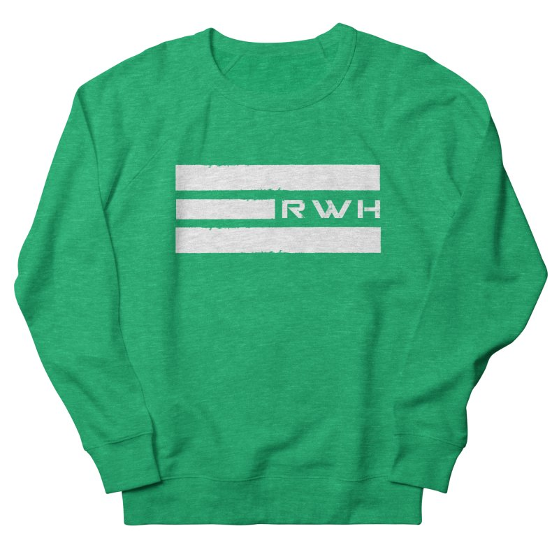 RWH 2020 WHITE Bars Women's Sweatshirt by Razorwire Halo Gear