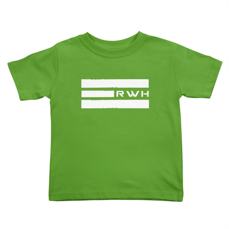 RWH 2020 WHITE Bars Kids Toddler T-Shirt by Razorwire Halo Gear