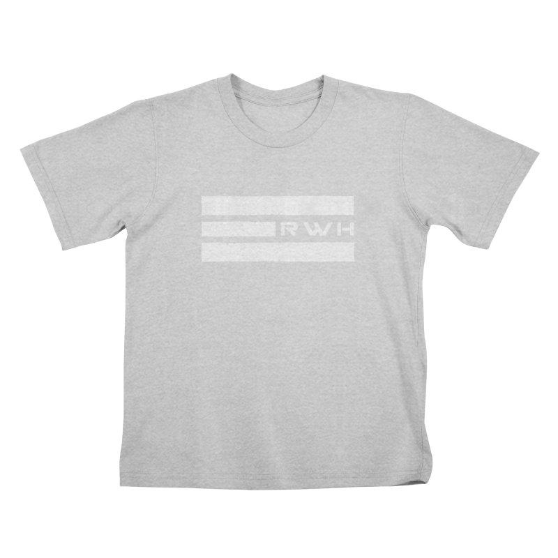 RWH 2020 WHITE Bars Kids T-Shirt by Razorwire Halo Gear