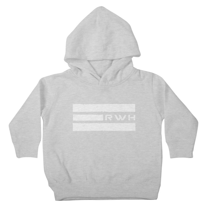 RWH 2020 WHITE Bars Kids Toddler Pullover Hoody by Razorwire Halo Gear