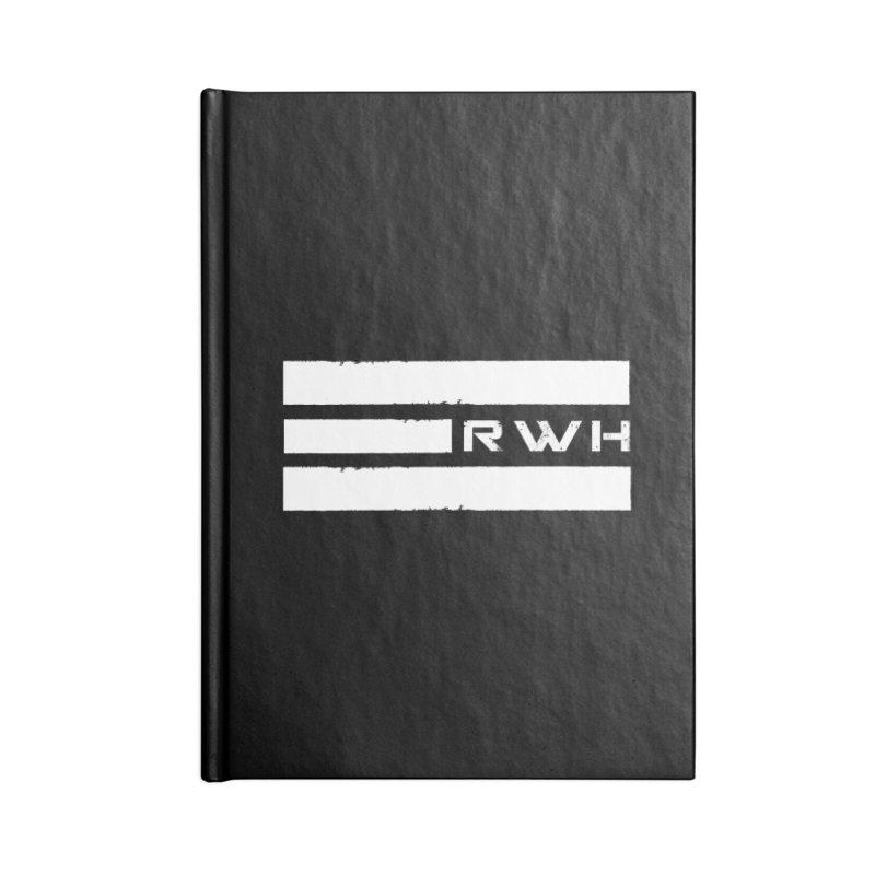 RWH 2020 WHITE Bars Accessories Notebook by Razorwire Halo Gear