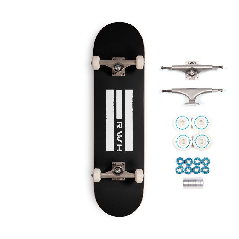 RWH 2020 WHITE Bars Accessories Skateboard by Razorwire Halo Gear