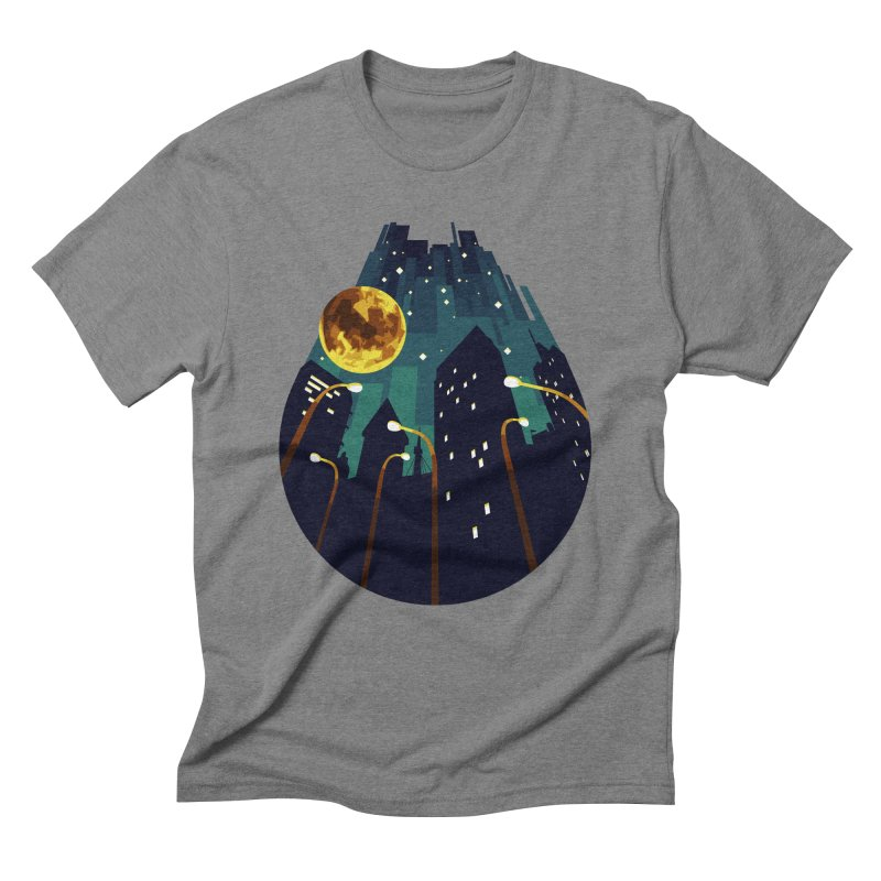 Coming Down Over Me Men's Triblend T-Shirt by Razual's Shop