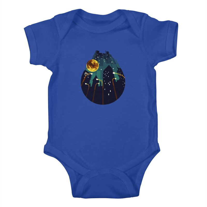Coming Down Over Me Kids Baby Bodysuit by Razual's Shop