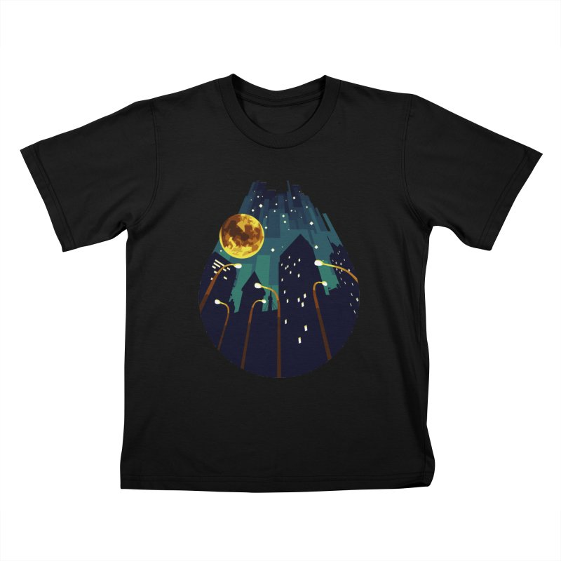 Coming Down Over Me Kids T-shirt by Razual's Shop