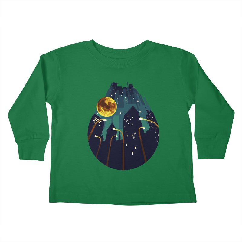 Coming Down Over Me Kids Toddler Longsleeve T-Shirt by Razual's Shop