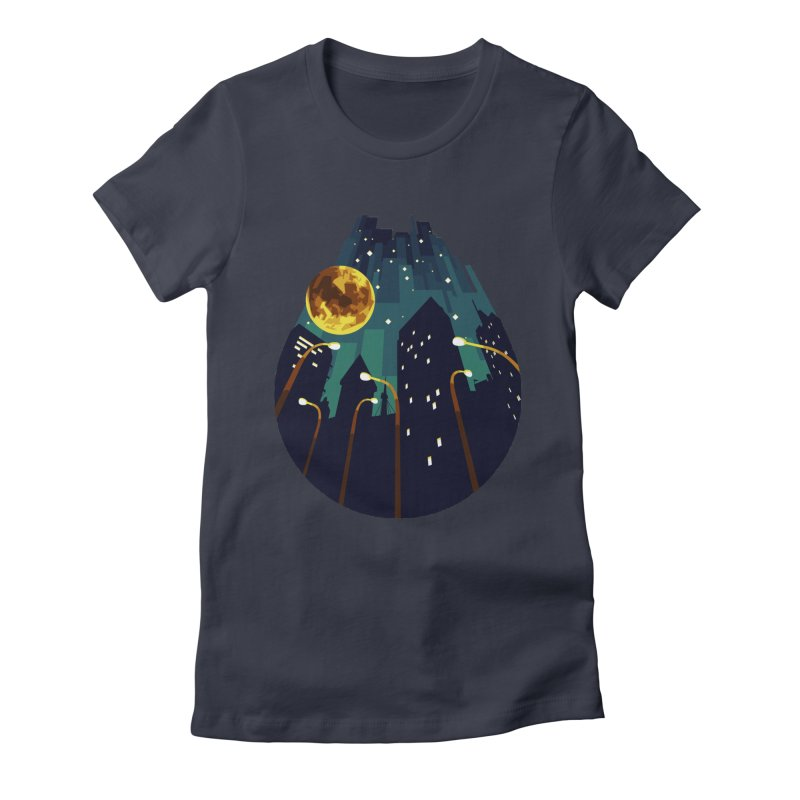 Coming Down Over Me Women's Fitted T-Shirt by Razual's Shop