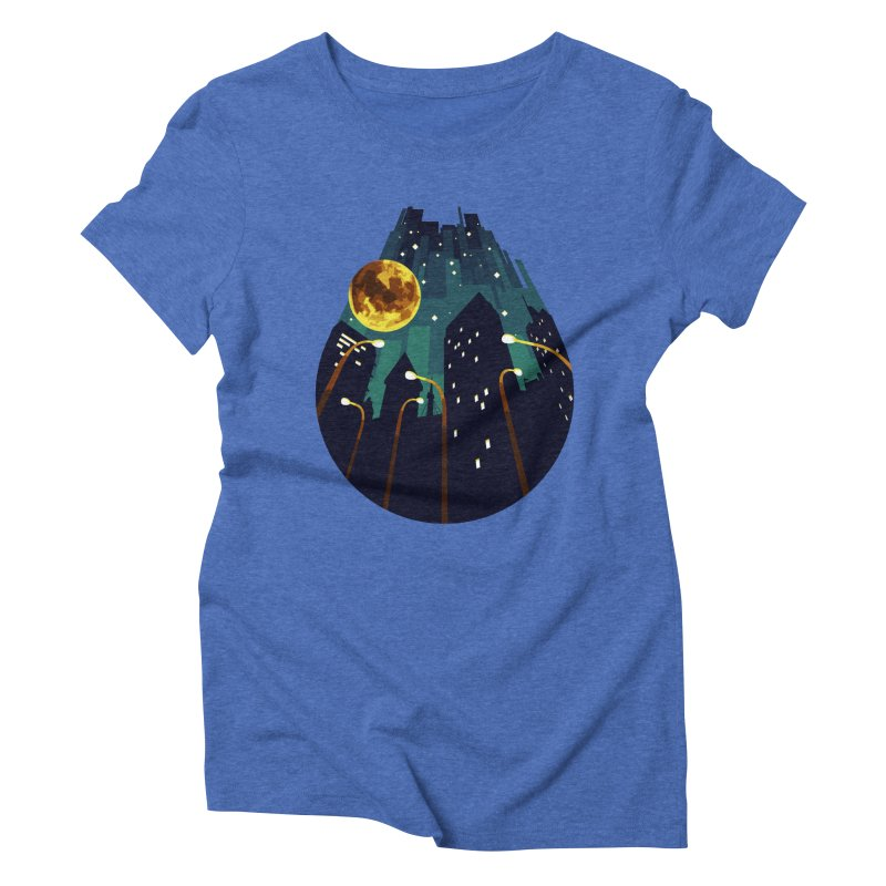 Coming Down Over Me Women's Triblend T-Shirt by Razual's Shop