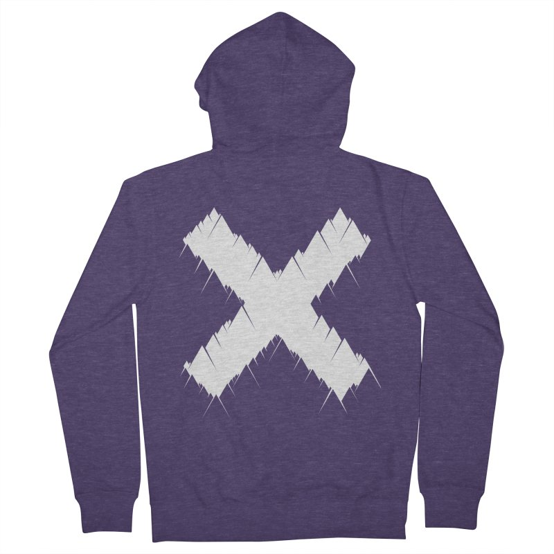 X-equilaterals Men's Zip-Up Hoody by Razual's Shop