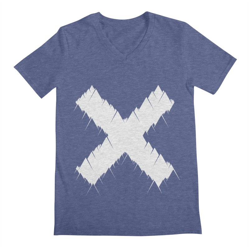 X-equilaterals Men's V-Neck by Razual's Shop