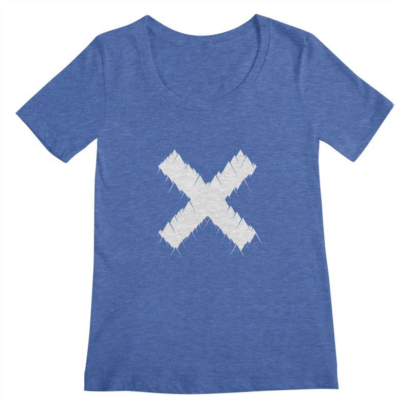 X-equilaterals Women's Scoopneck by Razual's Shop