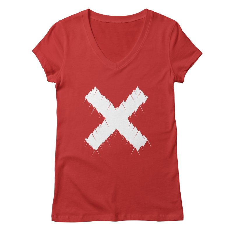 X-equilaterals Women's V-Neck by Razual's Shop