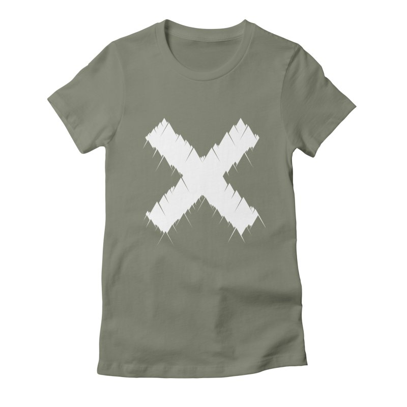 X-equilaterals Women's Fitted T-Shirt by Razual's Shop