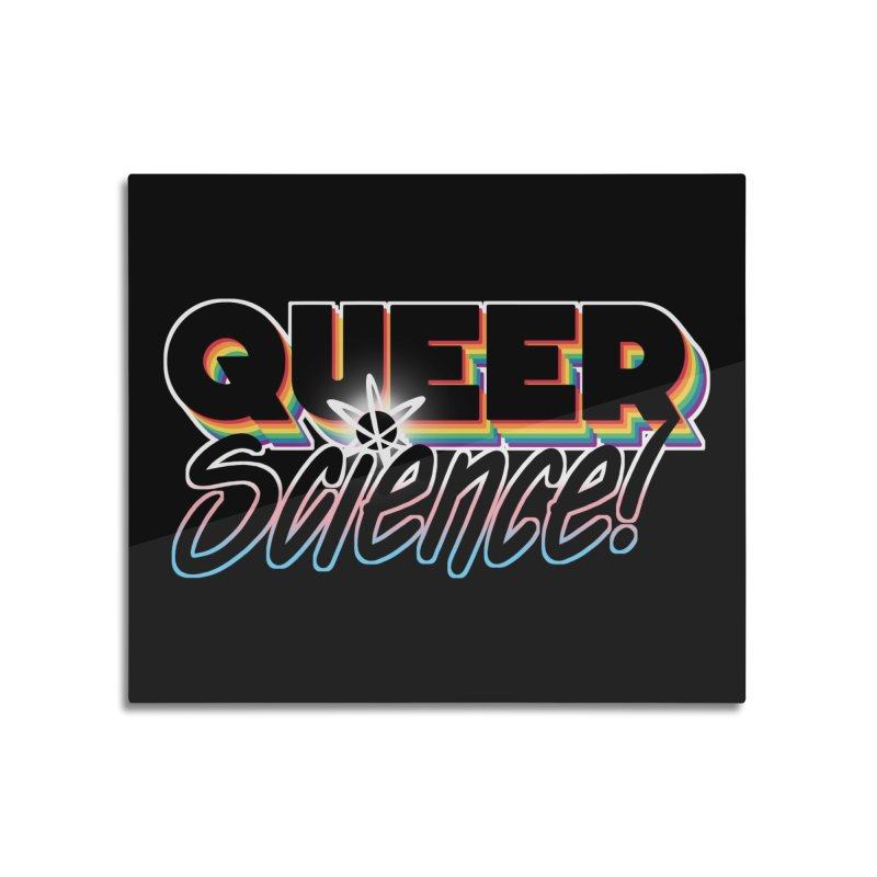 Queer Science! Home Mounted Aluminum Print by RB's Art Shop