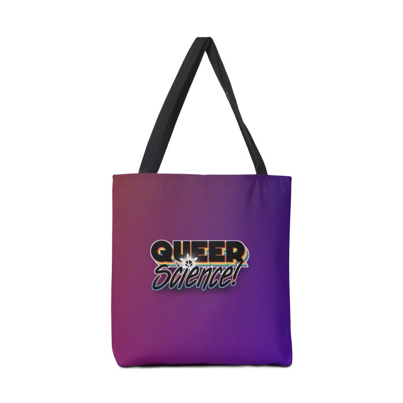 Queer Science! (Gradient) Accessories Bag by RB's Art Shop