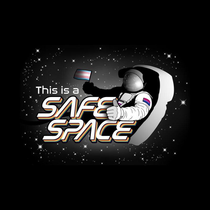 Safe Space Women's Tank by RB's Art Shop