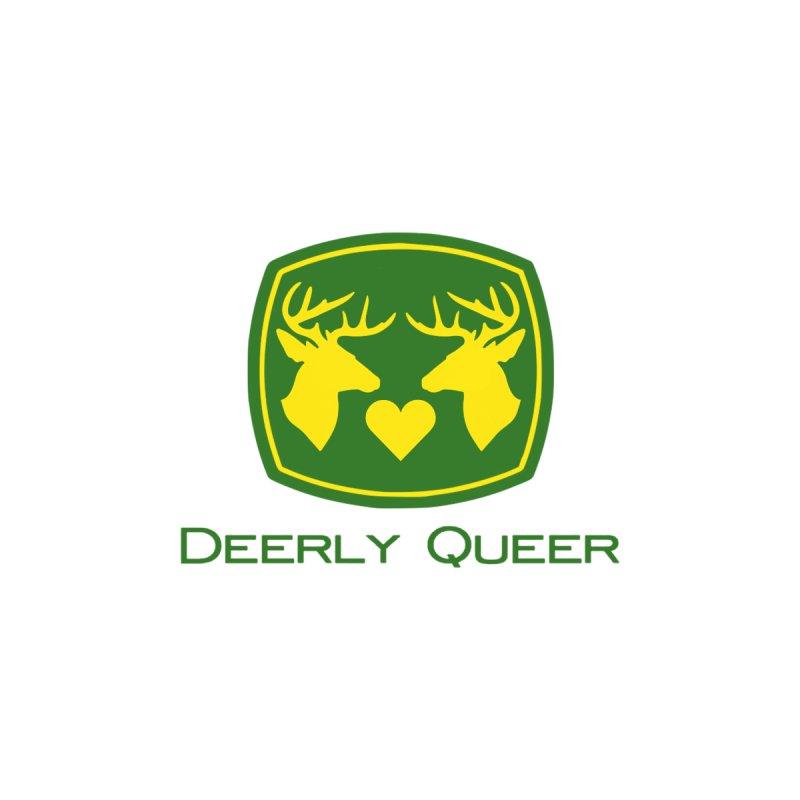 Deerly Queer (Bucks loving Bucks) Accessories Bag by RB's Art Shop