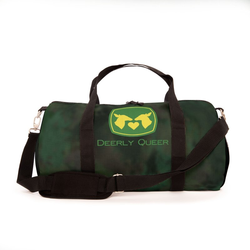 Deerly Queer (Does loving Does) Accessories Bag by RB's Art Shop
