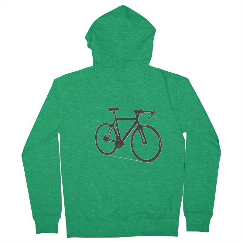 Take Me Out on the Road [Bike] Women's Zip-Up Hoody by rbonilla's Artist Shop