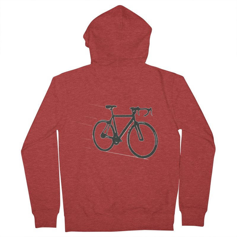 Take Me Out on the Road [Bike] Men's French Terry Zip-Up Hoody by rbonilla's Artist Shop