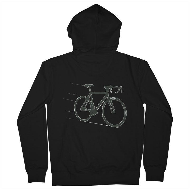 Take Me Out on the Road [Bike] Men's Zip-Up Hoody by rbonilla's Artist Shop
