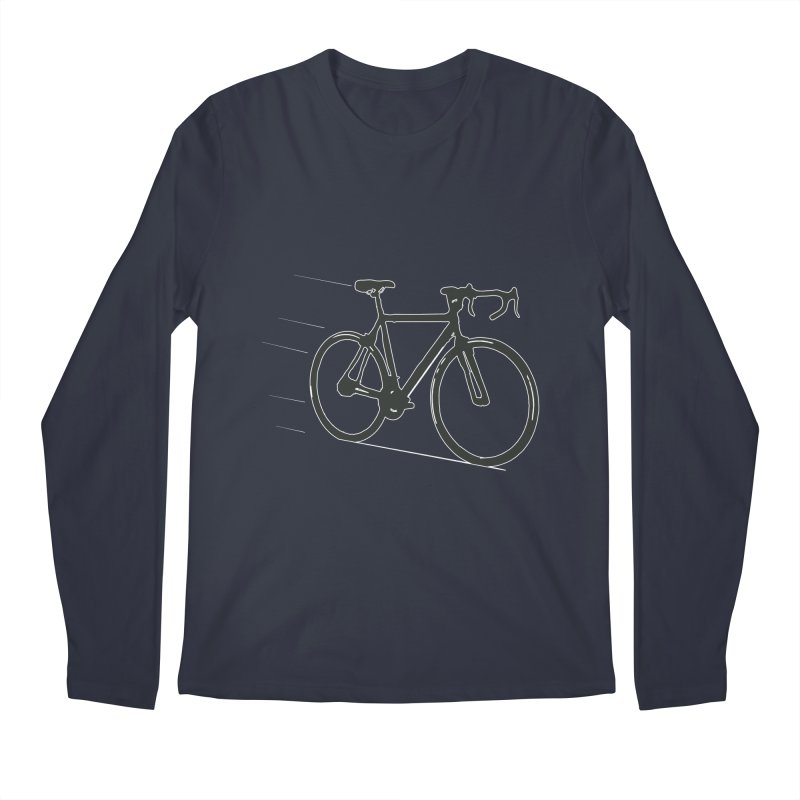 Take Me Out on the Road [Bike] Men's Longsleeve T-Shirt by rbonilla's Artist Shop