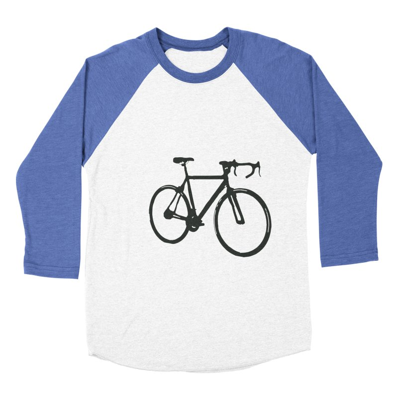Take Me Out on the Road [Bike] Men's Baseball Triblend Longsleeve T-Shirt by rbonilla's Artist Shop