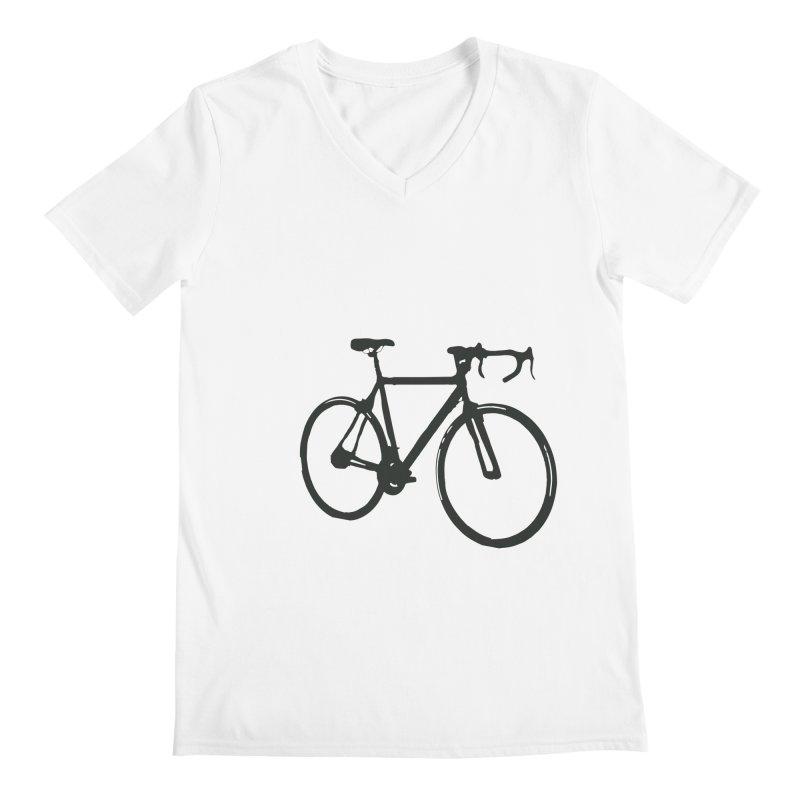 Take Me Out on the Road [Bike] Men's V-Neck by rbonilla's Artist Shop