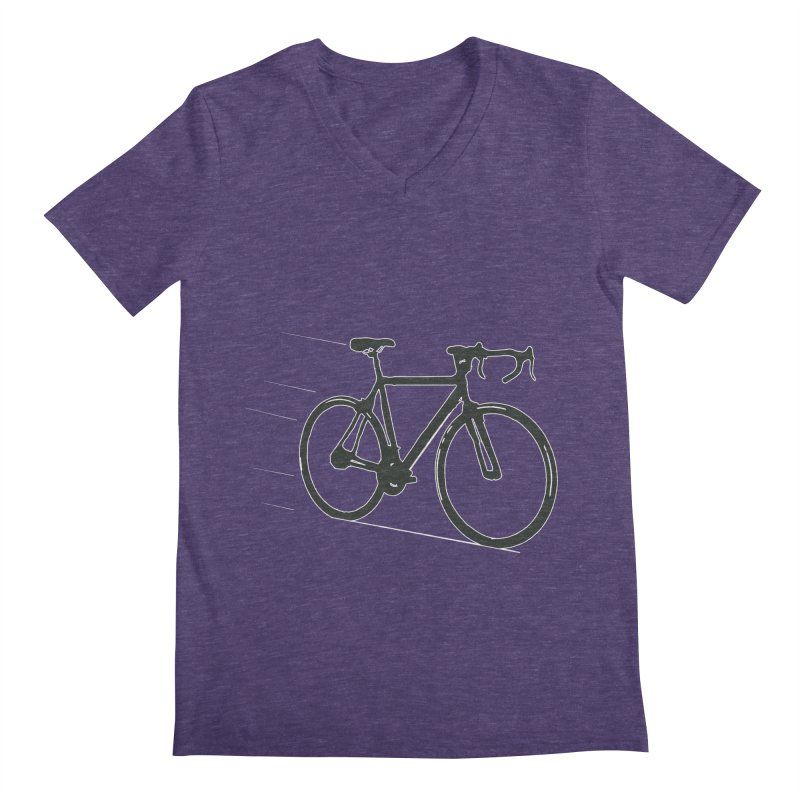 Take Me Out on the Road [Bike] Men's V-Neck by rbonilla's Artist Shop
