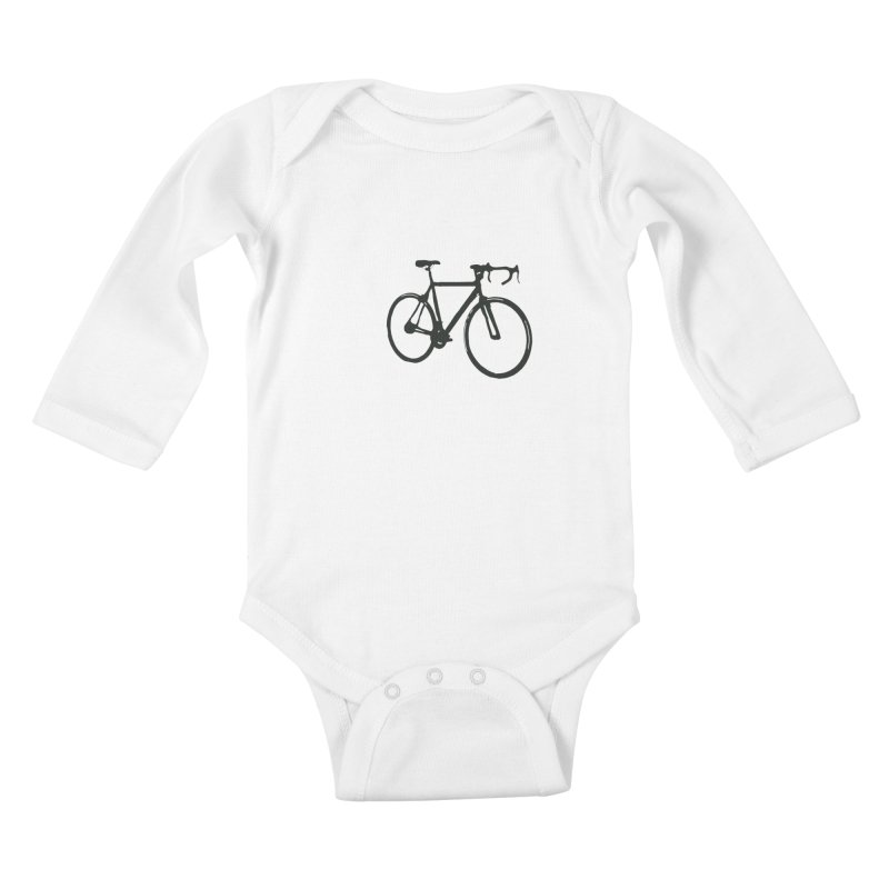 Take Me Out on the Road [Bike] Kids Baby Longsleeve Bodysuit by rbonilla's Artist Shop