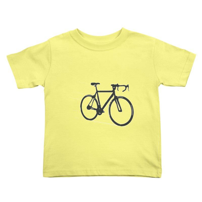 Take Me Out on the Road [Bike] Kids Toddler T-Shirt by rbonilla's Artist Shop