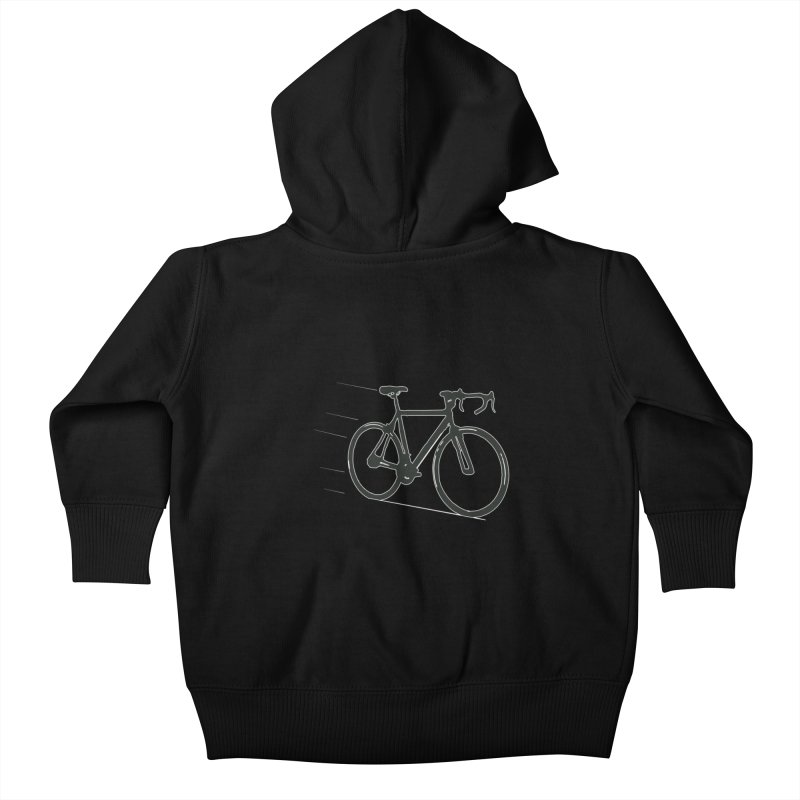 Take Me Out on the Road [Bike] Kids Baby Zip-Up Hoody by rbonilla's Artist Shop