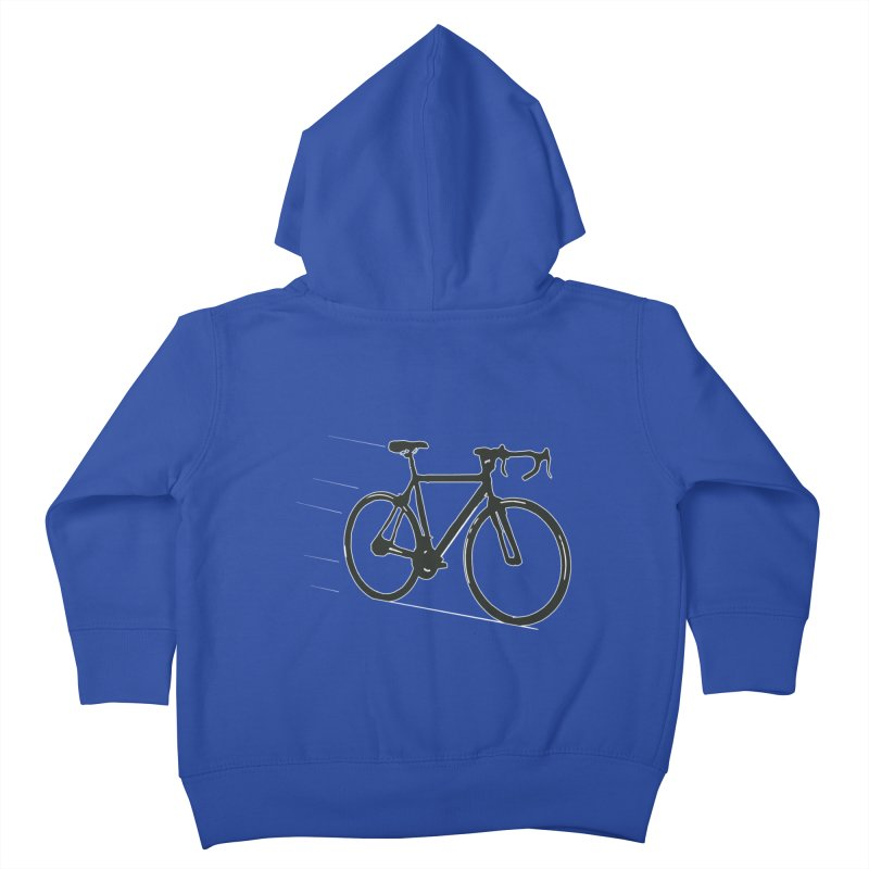 Take Me Out on the Road [Bike] Kids Toddler Zip-Up Hoody by rbonilla's Artist Shop